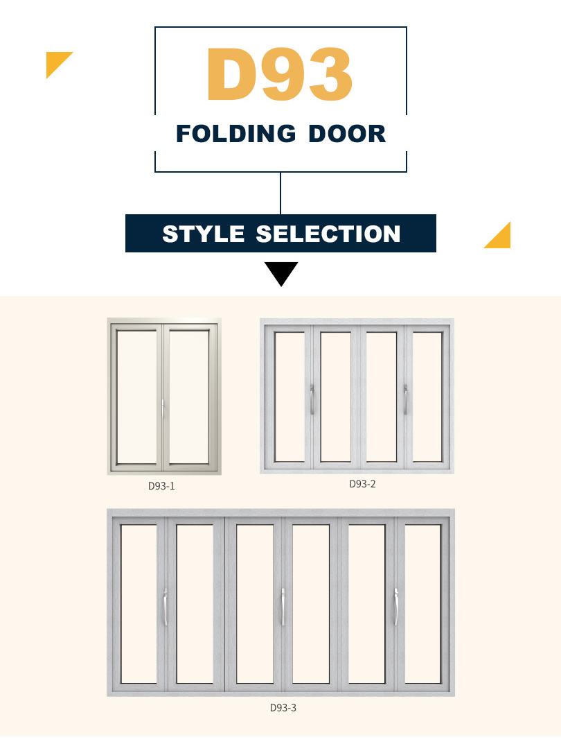 Folding Door Color