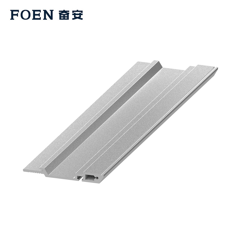 Anodized square aluminium extrusion profile