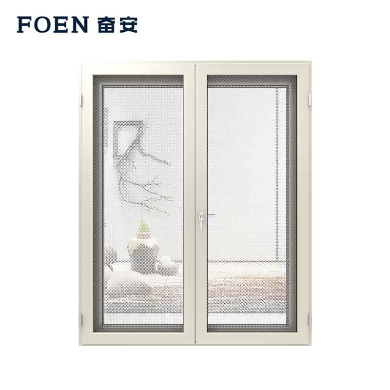 Aluminium frame swing door